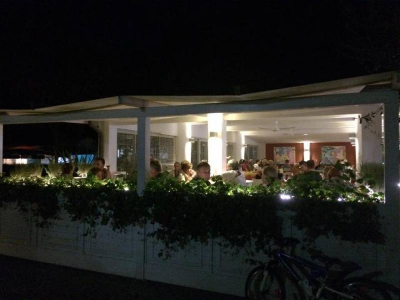 Campsite with restaurant in Tuscany